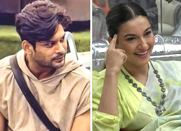 Bigg Boss 14 Sidharth Shukla gets flirty with Gauahar Khan