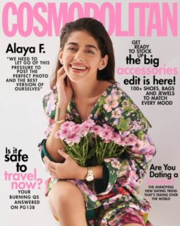 Alaya F On The Covers Of Cosmopolitan