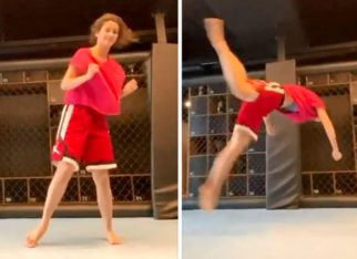 Disha Patani aces the butterfly kick in her latest video