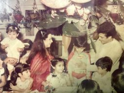 Ekta Kapoor eyeing Tusshar Kapoor's birthday cake in this throwback picture describes every siblings bond