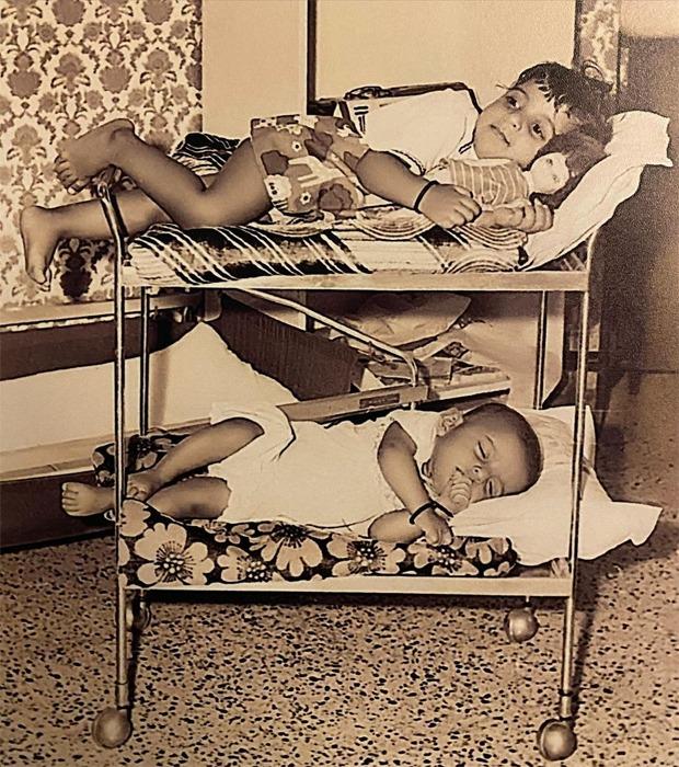 Farhan Akhtar shares a childhood picture on Zoya Akhtar's birthday