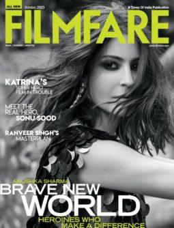 Anushka Sharma On The Covers Of Filmfare