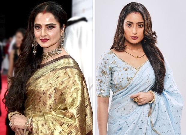 "Ghum Hai Kisikay Pyaar Meiin Aishwarya Sharma says, ""Rekhaji has shot a promo for my show; what else I could have asked for"""