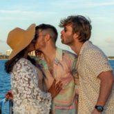 Glen Powell is third-wheeling as Nick Jonas kisses Priyanka Chopra in the latest picture