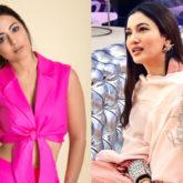 Hina Khan lends a hand of support to co-mentor Gauhar Khan in Bigg Boss 14