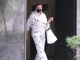 Huma Qureshi spotted post clinic visit in Bandra