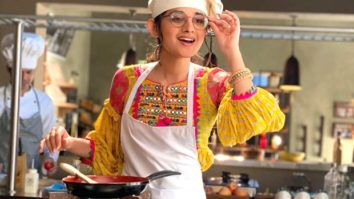 Kanika Mann uses her lockdown cooking skills while shooting for Guddan Tumse Na Ho Payega