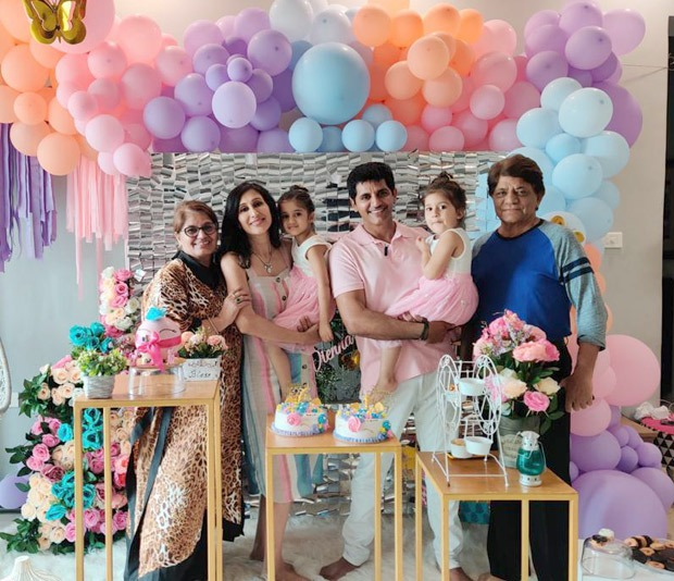 Karanvir Bohra's twins turn 4 in semi-lockdown : Bollywood News – Bollywood Hungama