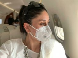 Kareena Kapoor Khan urges everyone to a wear mask as she returns to Mumbai