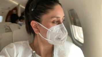 Kareena Kapoor Khan urges everyone to a wear mask as she returns to Mumbai