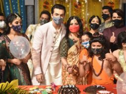 Mohsin Khan celebrates his birthday on the sets of Yeh Rishta Kya Kehlata Hai