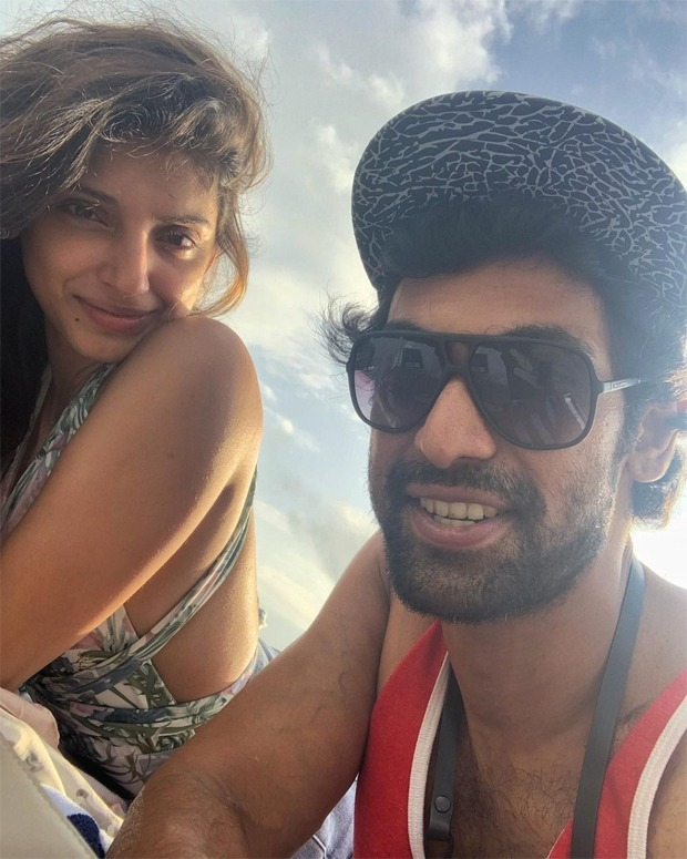Newlyweds Rana Daggubati and Miheeka Bajaj spend a sunny day on the beach during their romantic getaway