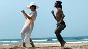 Nora Fatehi makes the most of her vacation while dancing on the beach on the song 'Tetema' with her makeup artist
