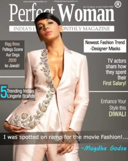 Mugdha Godse On The Covers Of Perfect Woman