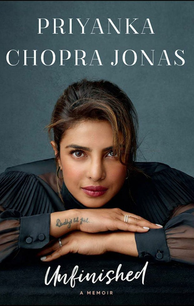 Priyanka Chopra unveils the cover of her memoir Unfinished, says the title has a deeper meaning