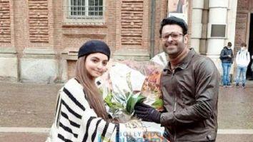 On The Sets Of The Movie Radhe Shyam