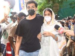 Rhea Chakraborty and Showik Chakraborty's custody extended till October 20