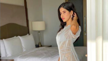 Bom Diggy Diggy girl Sakshi Mallik feels the good vibes as she poses in a white sheer dress