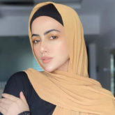 Sana Khan quits showbiz lifestyle; says she will 'serve humanity and follow the order of her Creator'