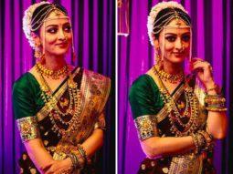 Sandeepa Dhar looks beautiful as Maharashtrian bride in Zee5's MumBhai