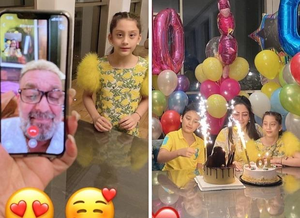 Sanjay Dutt beats cancer, celebrates with wife & kids