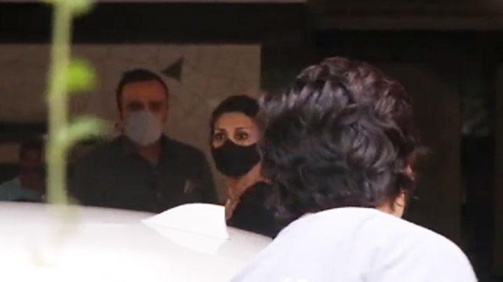 Sonali Bendre spotted in Andheri