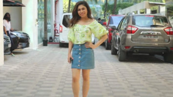 Tulsi Kumar spotted at new T-Series office Andheri