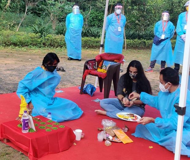 Vidya Balan resumes shoot for Sherni in Madhya Pradesh, shares pictures from the set
