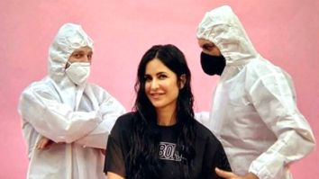 Katrina Kaif is all smiles as she resumes work; shares picture with her crew in PPE kit