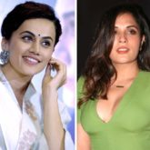 """Taapsee Pannu says Richa Chadha should go to Delhi and make herself """"visible and audible"""" after NCW head fails to respond to the latter's complaint"""