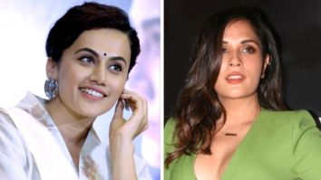 "Taapsee Pannu says Richa Chadha should go to Delhi and make herself ""visible and audible"" after NCW head fails to respond to the latter's complaint"
