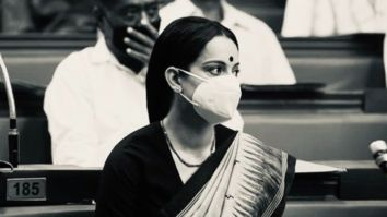 Kangana Ranaut wraps up first schedule of Thalaivi post lockdown; shares new stills from the film