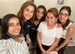 Disha Patani wraps up the shoot of Radhe; shares picture with her girl gang
