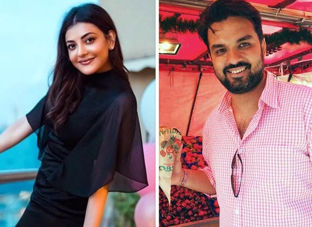 Kajal Aggarwal's fiancé Gautam Kitchlu gives a glimpse into their pre-wedding celebration; actress calls him her 'super aesthetic feyonce'