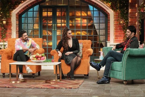 The Kapil Sharma Show: Siblings Huma Qureshi and Saqib Saleem grace the show; see pics : Bollywood News - Bollywood Hungama