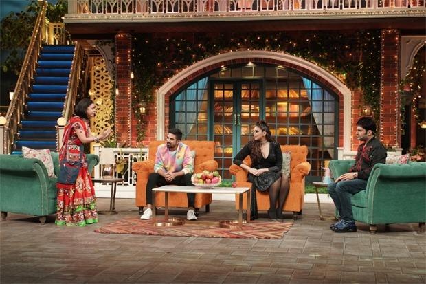 The Kapil Sharma Show: Siblings Huma Qureshi and Saqib Saleem grace the show; see pics
