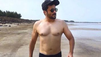 Anil Kapoor shares shirtless pictures of him walking on the beach; flaunts his body in style