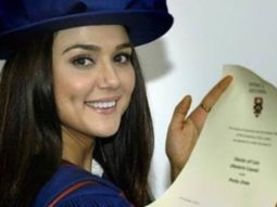 Preity Zinta shares picture with her honorary doctorate certificate; reveal why she does not use doctor in her name