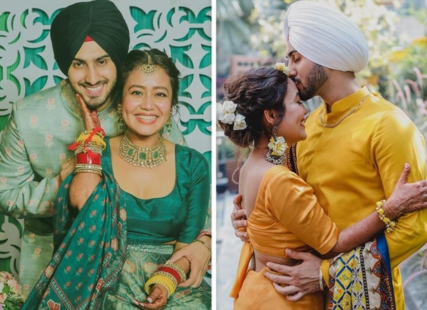 Neha Kakkar-Rohanpreet Singh's dreamy pics from haldi ceremony out