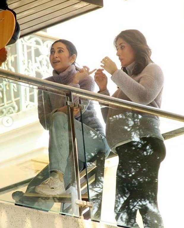 Karisma Kapoor gives a glimpse into her shoot day with mom-to-be Kareena Kapoor Khan