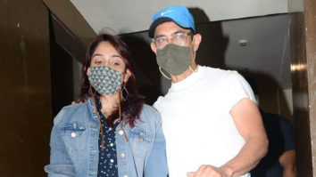 Aamir Khan spotted at Juhu PVR