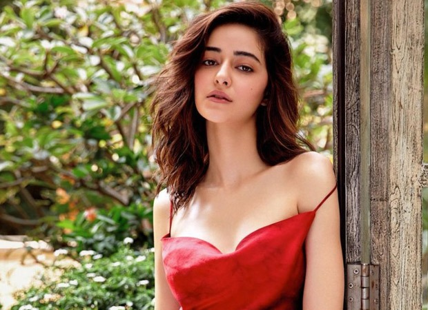 Ananya Panday is a sight to behold as she makes heads turn in a red dress