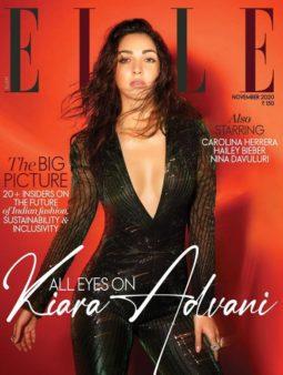 Kiara Advani On The Covers Of Elle, Nov 2020