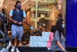Farhan Akhtar with girlfriend Shibani Dandekar and his kid spotted in Bandra