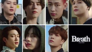 GOT7 unveils the first teaser of pre-single track 'Breath' and the septet looks captivating