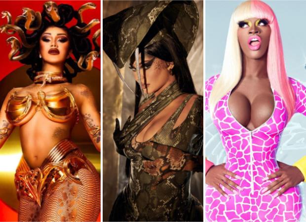 Halloween 2020: Cardi B as Medusa, Kylie Jenner as King Cobra, Lil Nas X as Nicki Minaj win the internet with their extravagant outfits