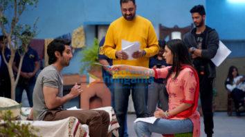On The Sets From The Movie Indoo Ki Jawani
