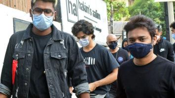 Ishaan Khattar spotted Aalim Hakim hair studio Versova
