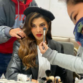 Jacqueline Fernandez shares a sneak peek of her look from the sets of Bhoot Police