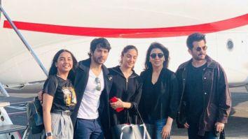 Jug Jug Jiyo: Varun Dhawan, Kiara Advani, Anil Kapoor, Neetu Kapoor, Youtuber MostlySane aka Prajakta Koli head to Chandigarh